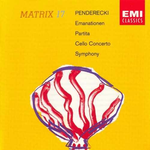 Penderecki - Orchestral Works (FLAC)