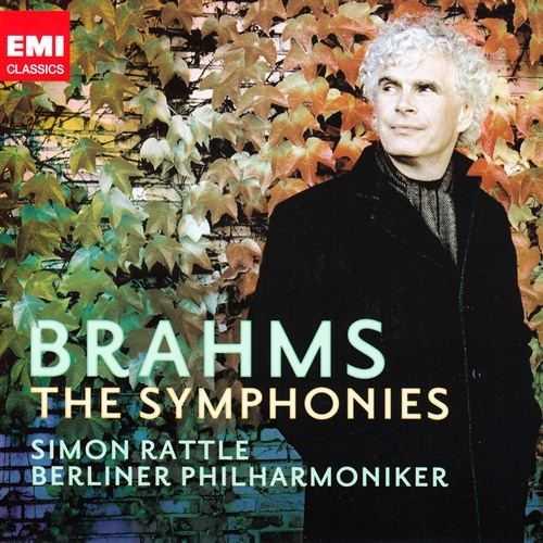 Rattle: Brahms - The Symphonies (3 CD box set, FLAC)