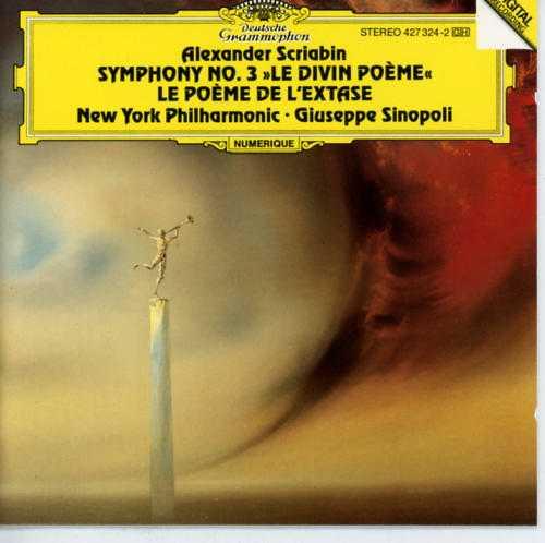 """Sinopoli: Scriabin - Symphony no.3 """"Le Divin Poeme"""", """"Le Poeme de l'Extase"""" (FLAC)"""