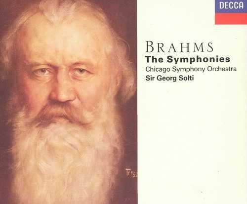 Solti: Brahms - The Symphonies (4 CD box set, APE)