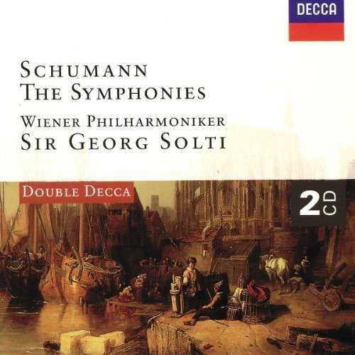 Solti: Schumann - The Symphonies (2 CD, FLAC)