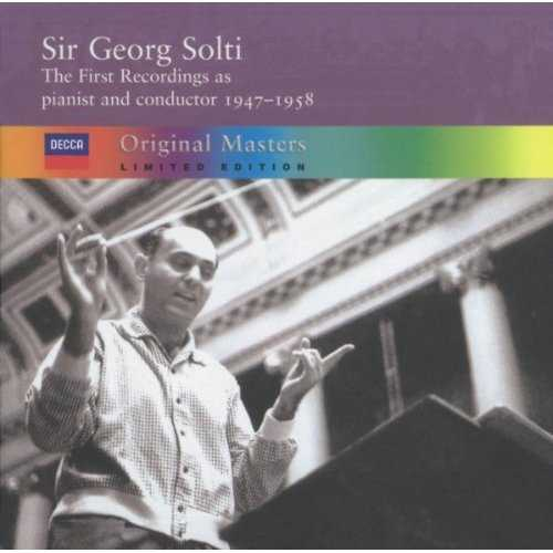 Solti - The First Recordings As Pianist and Conductor 1947-1958 (4 CD box set, APE)