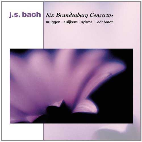 Leonhardt: Bach - Six Brandenburg Concertos (2 CD, APE)