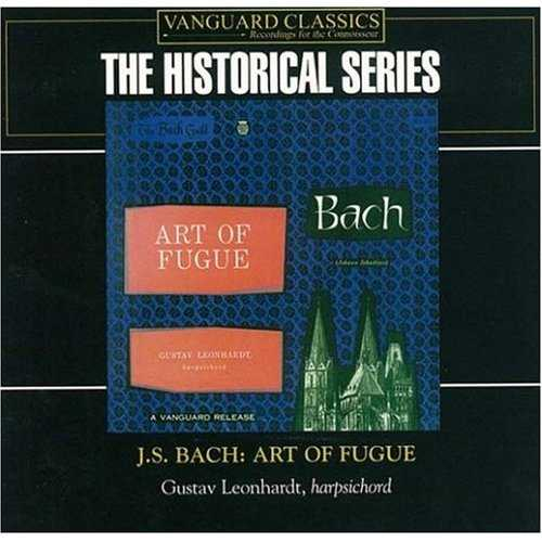 Leonhardt: Bach - Art of Fugue (2 CD, FLAC)