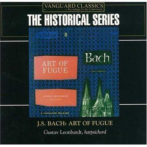 Leonhardt: Bach - Art of Fugue (2 CD, FLAC)