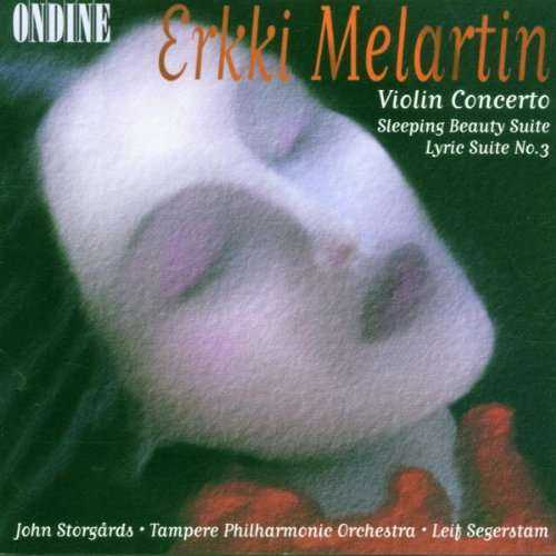 Segerstam: Melartin - Violin Concerto, Sleeping Beauty Suite, Lyric Suite no.3 (FLAC)