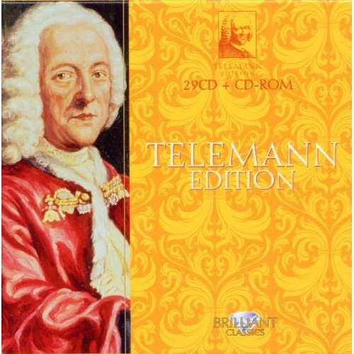 Telemann Edition (29 CD box set, APE)