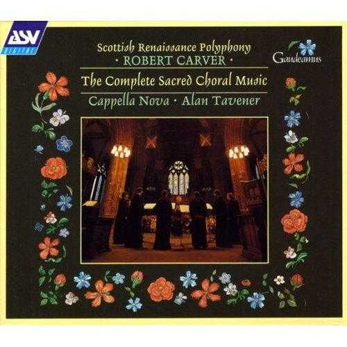 Robert Carver - The Complete Sacred Choral Music (3 CD, FLAC)