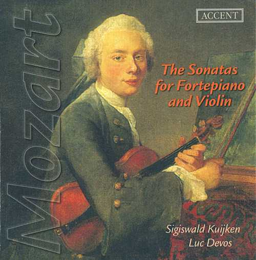 Mozart – The Complete Sonatas for Fortepiano and Violin (5CD, FLAC)