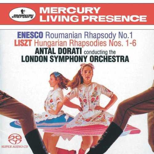 Dorati: Enesco - Roumanian Rhapsody No. 1, Liszt - Hungarian Rhapsodies Nos. 1-6 (APE)
