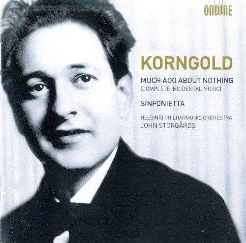 Storgards: Korngold - Much Ado About Nothing, Sinfonietta (FLAC)