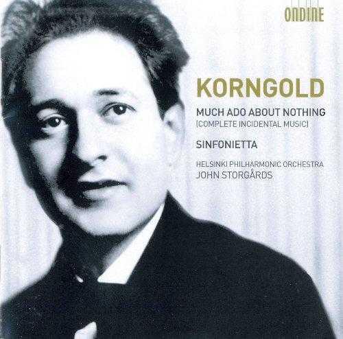 Storgards: Korngold - Much Ado About Nothing, Sinfonietta (FLAC)