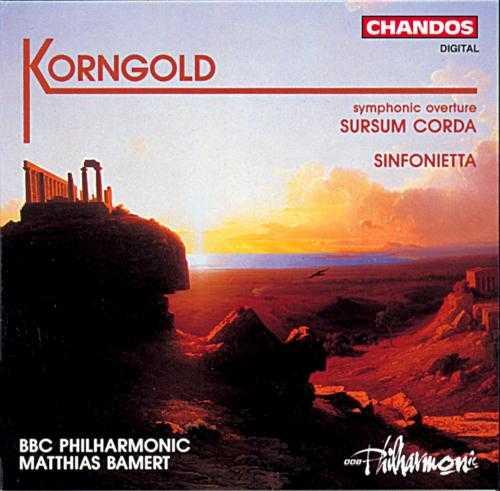 Bamert: Korngold - Sursum Corda, Sinfonietta (FLAC)