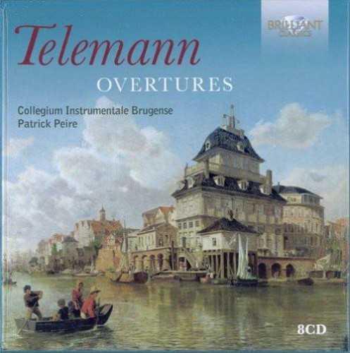 Peire: Telemann - Overtures (8CD, FLAC)