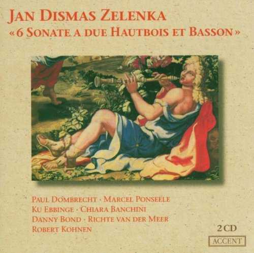 Zelenka: 6 Sonate a due Hautbois et Basson (2 CD, APE)
