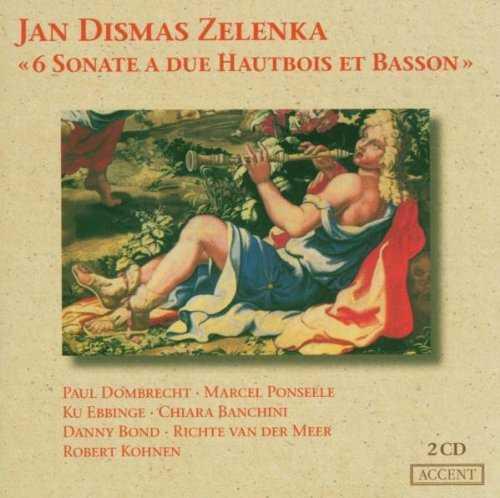 Zelenka: 6 Sonate a due Hautbois et Basson (2 CD, APE)