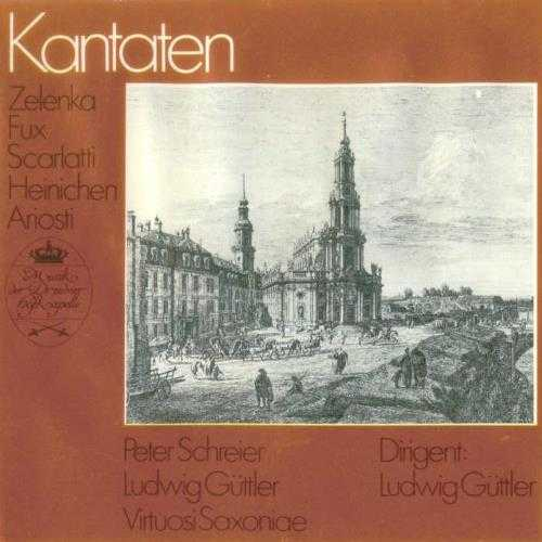 Zelenka, Fux, Scarlatti, Heinichen, Ariosti - Kantaten (APE)