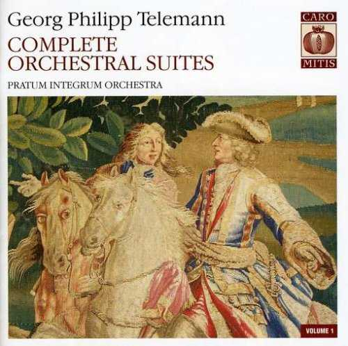 Telemann - Complete Orchestral Suites (7 SACD, ISO)