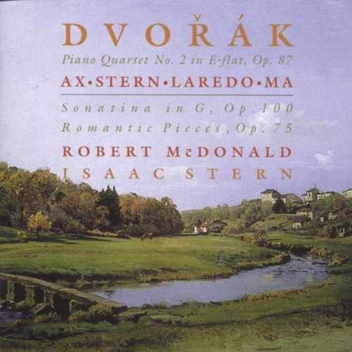 Ax, Stern, Laredo, Ma: Dvorak - Piano Quartet no.2, Sonatina in G, Romantic Pieces (FLAC)