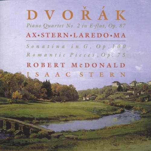 Ax, Stern, Laredo, Ma: Dvorak - Piano Quartet no.2, Sonatina in G, Romantic Pieces (FLAC)