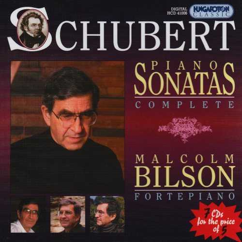 Bilson: Schubert - Piano Sonatas (7 CD box set, APE)