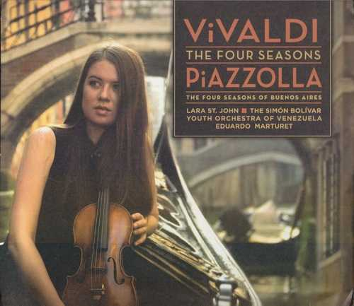 Piazzolla: Vivaldi - Four Seasons, Four Seasons of Buenos Aires (SASD, ISO)