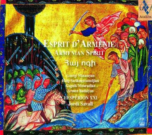 Savall: Esprit d'Armenie (24bit/88kHz, FLAC)