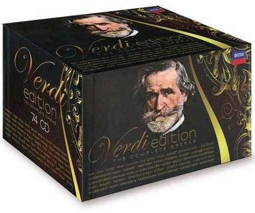 Verdi Edition. The Complete Operas (74 CD box set, APE)