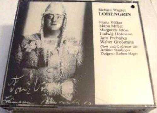 Heger, Rother: Wagner – Lohengrin (3 CD box set, APE)