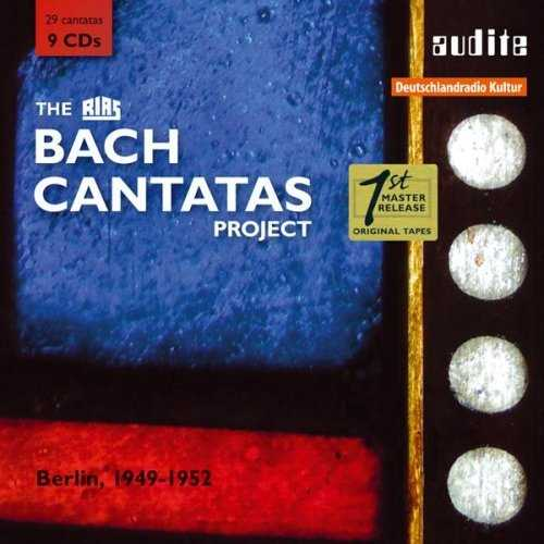 The RIAS Bach Cantatas Project (9 CD box set, APE)