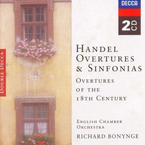 Bonynge: Handel - Overtures & Sinfonias. Overtures of the 18th Century (2 CD, APE)