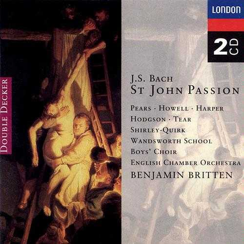 Britten: Bach - St. John Passion (2 CD, APE)
