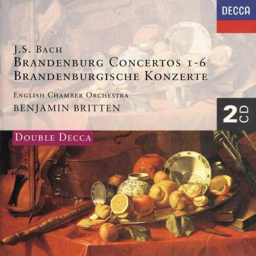 Britten, Marriner: Bach - Brandenburg Concertos 1-6 (2 CD, APE)