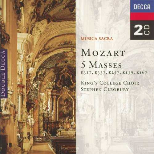 Cleobury: Mozart - 5 Masses (2 CD, APE)