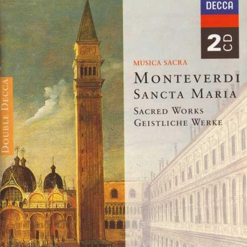 Gardiner, Guest, Hogwood, Malcolm: Monteverdi - Sancta Maria, Sacred Works (2 CD, APE)