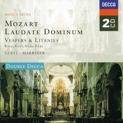 Guest, Marriner: Mozart - Laudate Dominum, Vespers & Litanies (2 CD, APE)