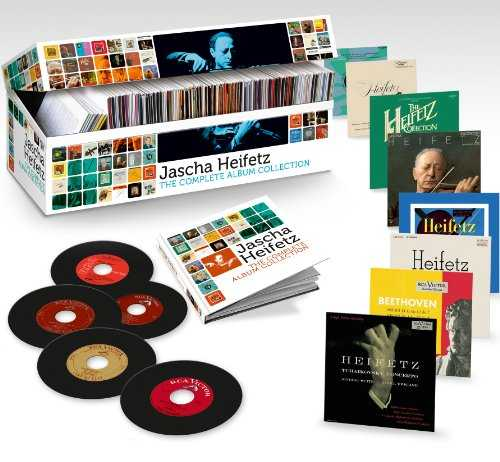 Jascha Heifetz: The Complete Album Collection (103 CD box set, FLAC)