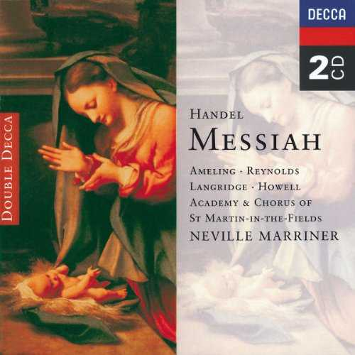 Marriner: Handel - Messiah (2 CD, APE)