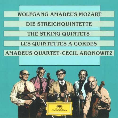 Amadeus Quartet, Cecil Aronowitz: Mozart – The String Quintets (3 CD, FLAC)