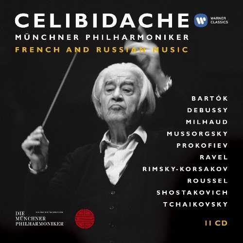 Celibidache: French and Russian Music (11 CD box set, FLAC)