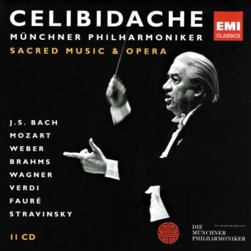 Celibidache - Sacred Music & Opera (11 CD box set, FLAC)