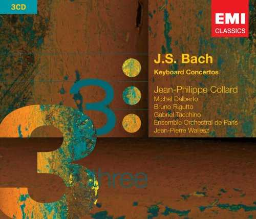 Collard: Bach - Keyboard - Concertos (3 CD, FLAC)