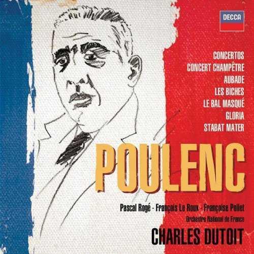 Dutoit: Poulenc - Concertos, Orchestral & Choral Works (5 CD box set, FLAC)