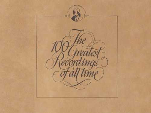Franklin Mint 100 Greatest Recordings of All Time (100 LP box set, 24 bit / 96 kHz, FLAC)