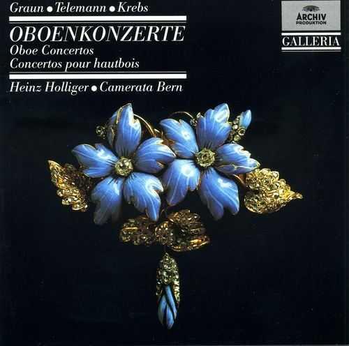 Graun, Telemann, Krebs: Oboe Concertos (FLAC)