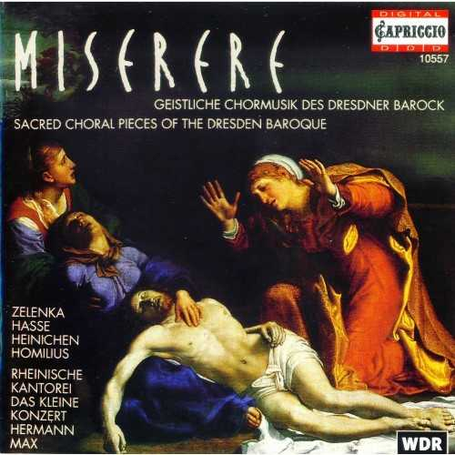 Miserere - Sacred Choral Pieces of the Dresden Baroque (APE)