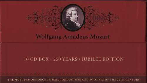 Mozart - 250 Years Jubilee Edition (10 CD box set, FLAC)