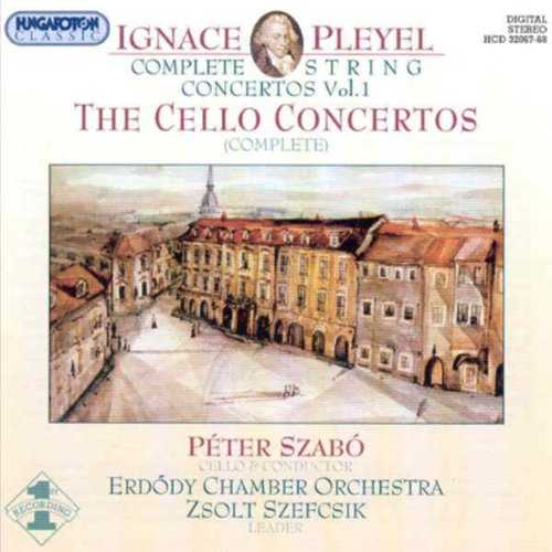Szabo: Pleyel - The Cello Concertos (2 CD, APE)
