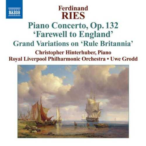 Ries - Piano Concerto in A minor op.132 (APE)