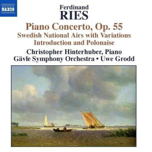 Ries - Piano Concerto, Swedish National Airs with Variations (FLAC)
